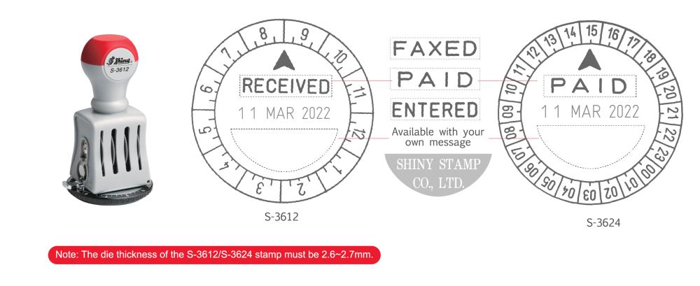 Stamp2u Die-Plate Dater-06